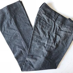 Banana Republic Factory chambray trouser Sz 8R